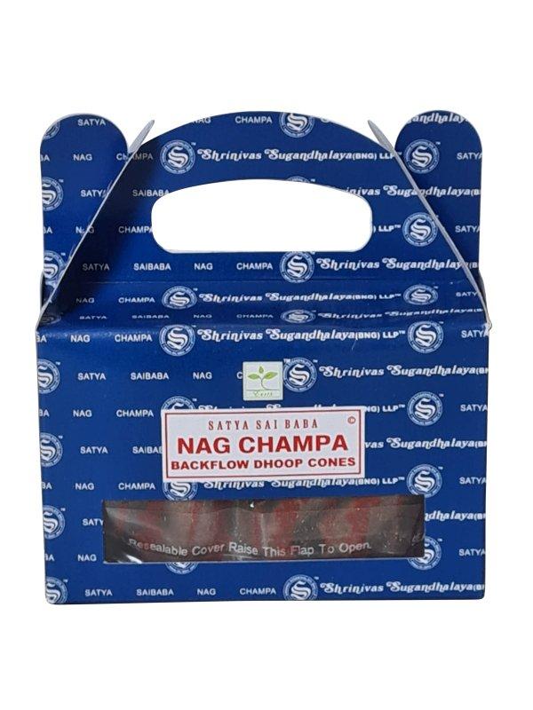 Backflow wierookkegeltjes Satya NagChampa