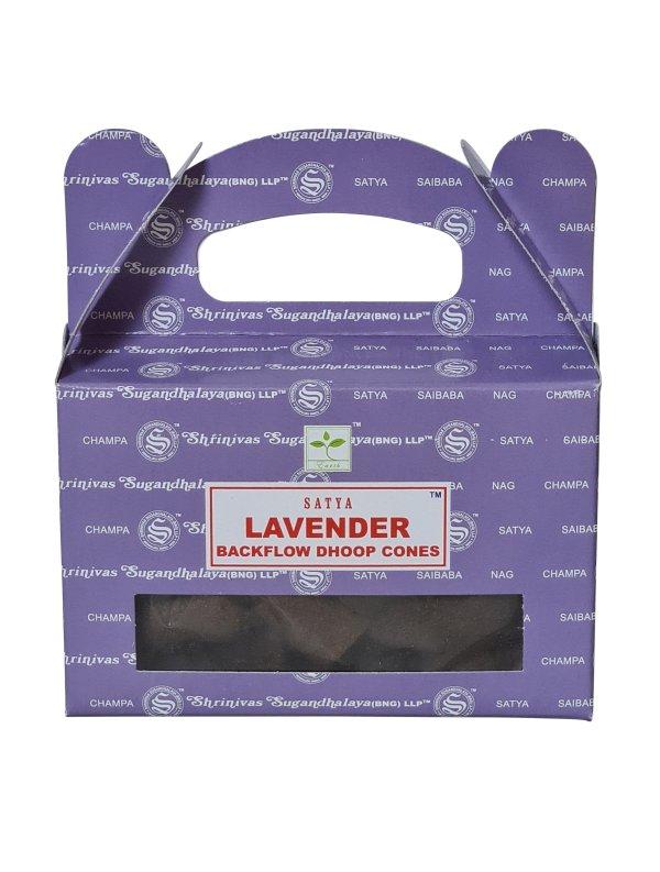 Backflow wierookkegeltjes Satya Lavender