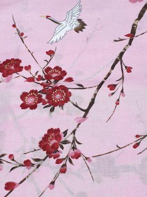 Japanse kimono kersen bloesem katoen