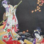Japanse kimono ukiyoe katoen