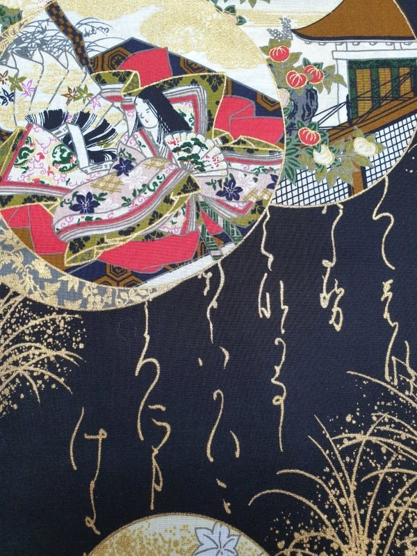 Japanse kimono prinses