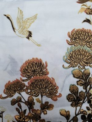 Japanse kimono kraanvogel
