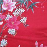 Kimono met bloem dessin