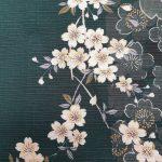 Japanse kimono kersenbloesem katoen