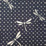 Japanse yukata dragonfly katoen detail