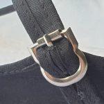 Tai Chi schoenen voor dames witte touw zool detail