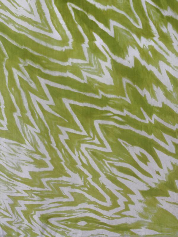 zijden sjaal limoen groen