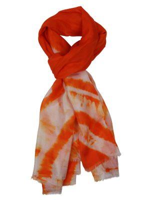 zijden sjaaltje oranje