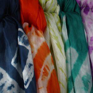 Zijden sjaals