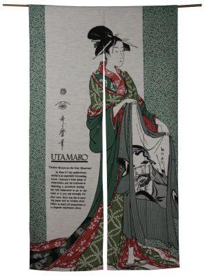 Japans deurgordijn (originele Noren) Haori Coat