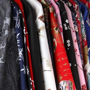 Japanse kimono en yukata