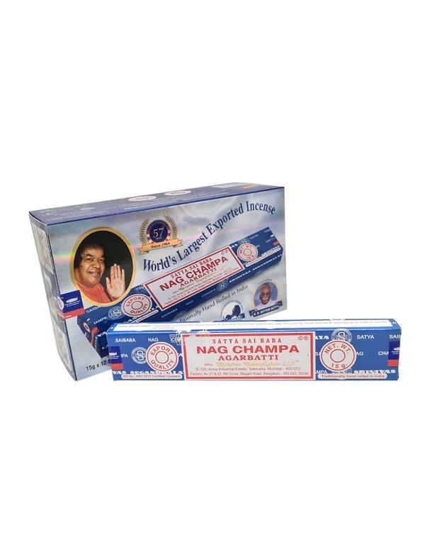 Wierookstokjes Satya Nag Champa 15 gram per 12