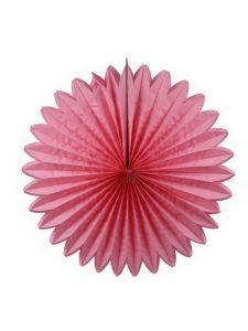 Honingraat Waaier roze