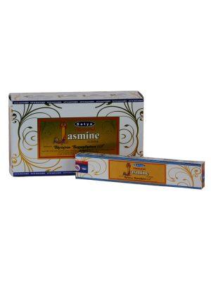 Wierookstokjes Satya Natural Jasmijn per 12