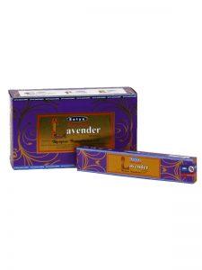 Wierookstokjes Satya Natural Lavendel per 12