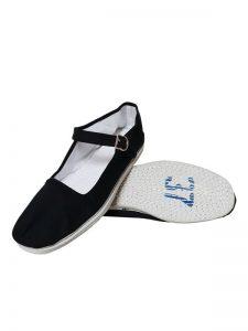 Tai Chi schoenen voor dames witte touw zool
