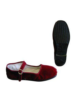 Kung Fu schoenen dames rood
