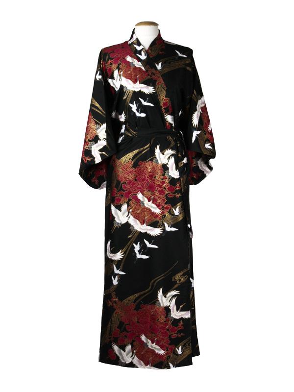 Japanse kimono zwart