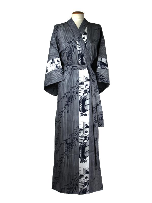 Yukata lady katoen