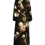 Japanse kimono prinses zwart