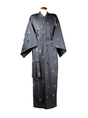 Yukata crest katoen