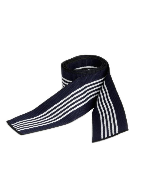 Obi omslagband katoen blauw