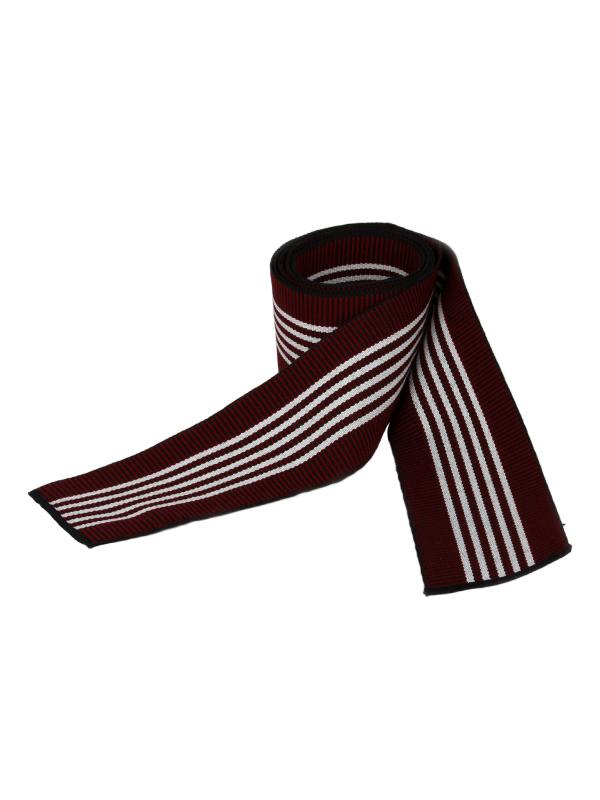 Obi omslagband katoen rood