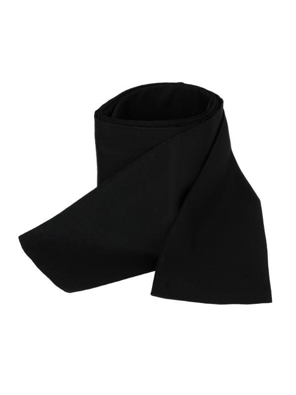 Obi omslagband polyester zwart
