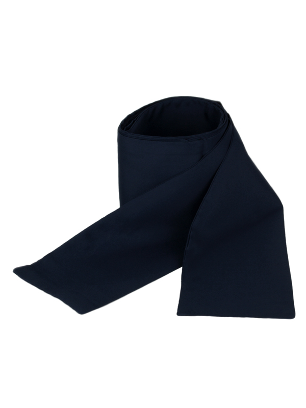Obi omslagband polyester blauw