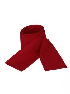 Obi omslagband polyester rood