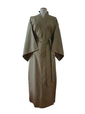 Originele Japanse Yukata beige katoen