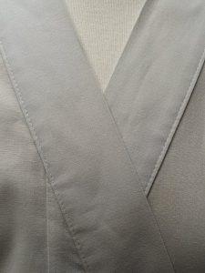 Originele Japanse Yukata grijs katoen detail