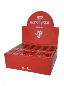 Morning Star wierook Myrrhe per 12