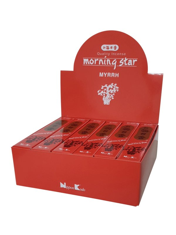 Morning Star wierook Myrrhe per 12