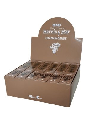 Morning Star wierook Frankincense per 12