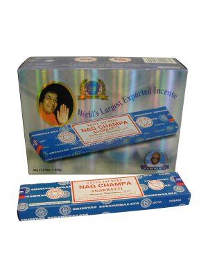 Wierookstokjes Satya Nag Champa 40 gram per 12