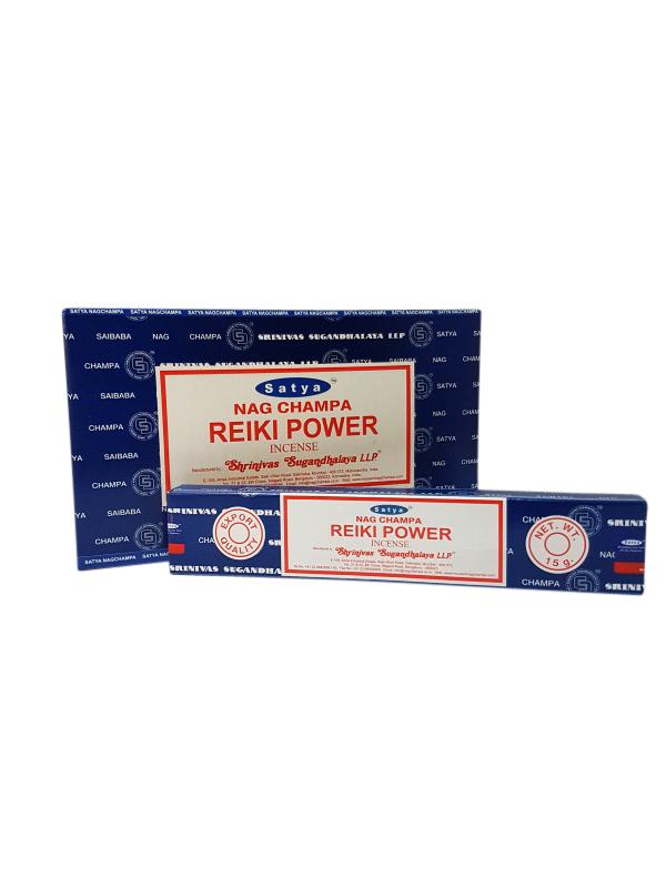 Wierookstokjes Satya Reiki Power per 12