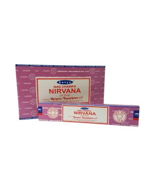 Wierookstokjes Satya Nirvana per 12