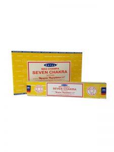 Wierookstokjes Satya Seven Chakra per 12