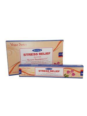 Wierookstokjes Satya Yoga Stress Relief per 12