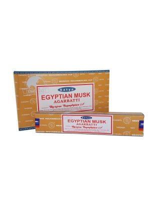 Wierookstokjes Satya Egyptian Musk per 12