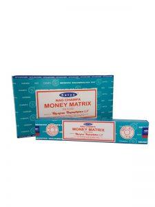 Wierookstokjes Satya Money Matrix per 12