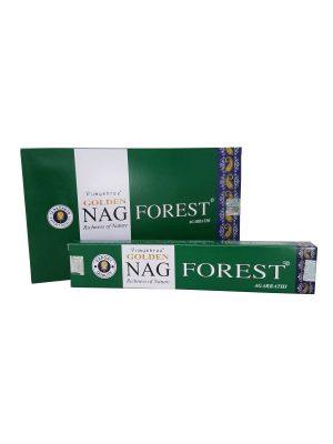 Wierookstokjes Golden Nag Forest per 12