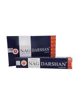Wierookstokjes Golden Nag Darshan per 12