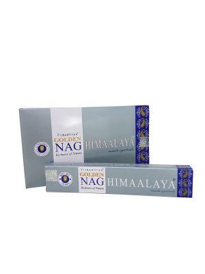 Wierookstokjes Golden Nag Himalaya per 12