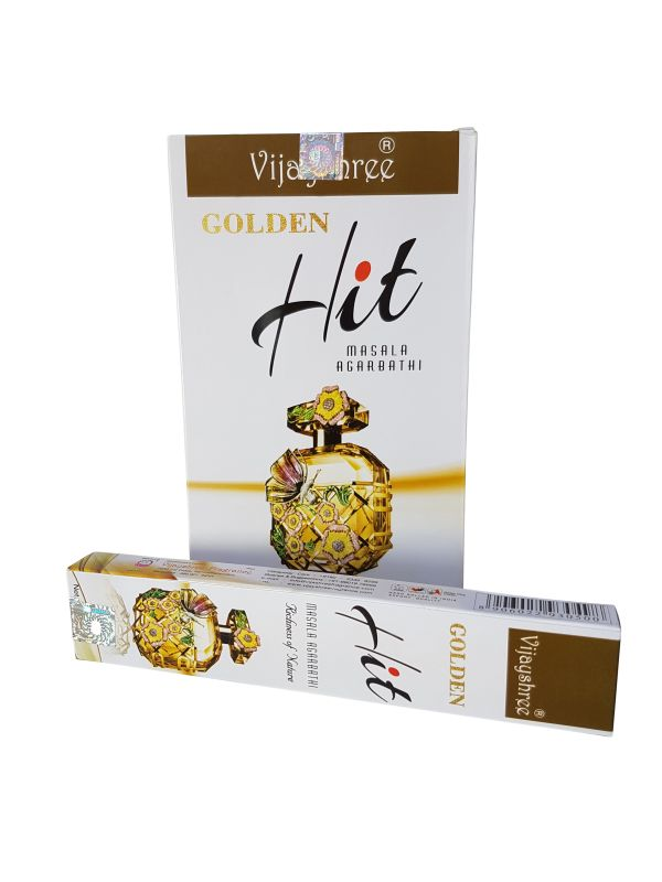 Wierookstokjes Golden Hit per 12