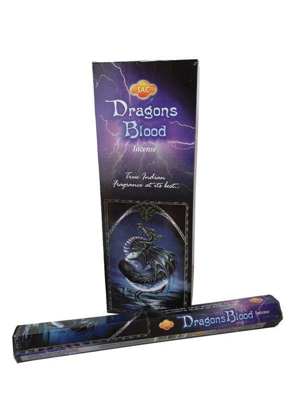 Wierookstokjes Dragons Blood per 6