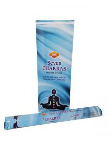 Wierookstokjes 7 Chakras per 6