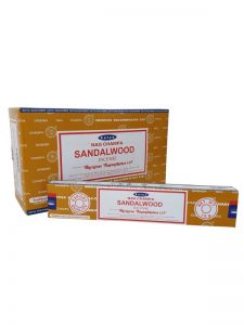 Wierookstokjes Satya Sandalwood per 12