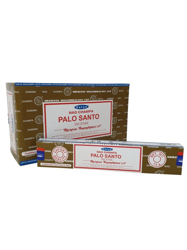 Wierookstokjes Satya Palo Santo per 12
